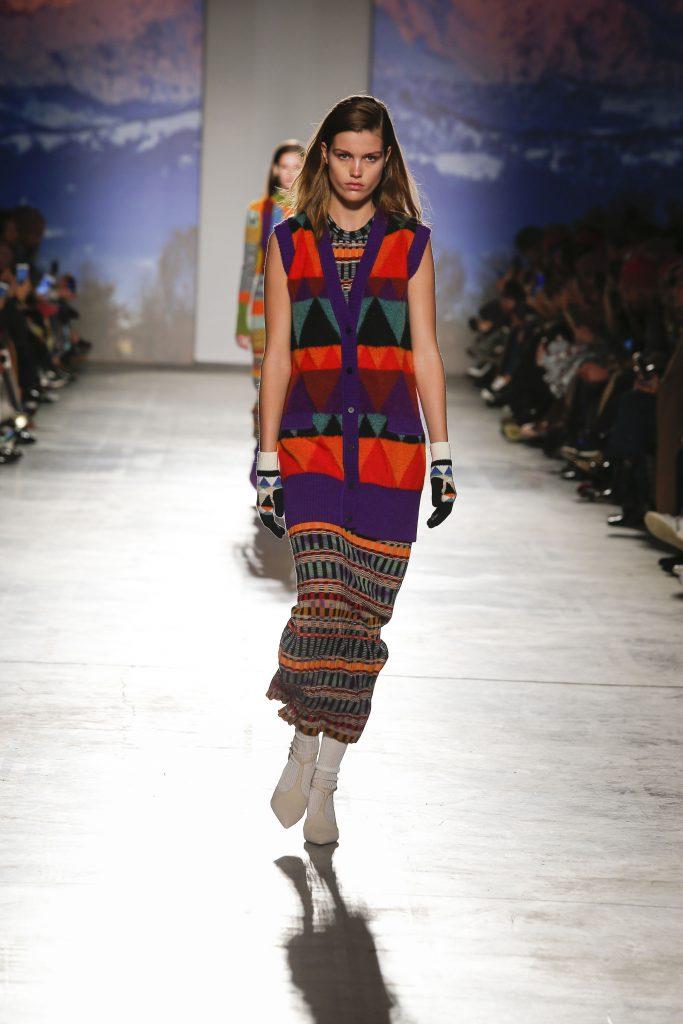 Straight skirts - Missoni AW17