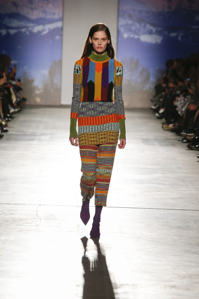 Missoni AW17 catwalk