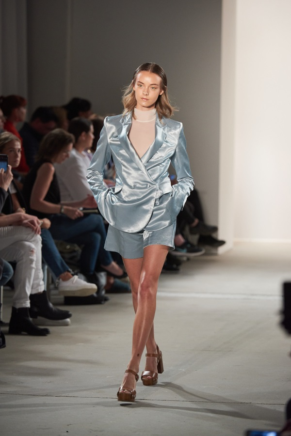 Danny Reinke spring summer collection 'A Breath of Nihilism' at the Mercedes-Benz Fashion Week in Berlin.