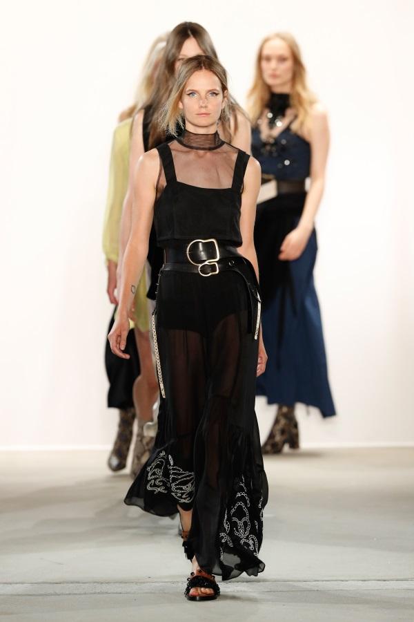 Dorothee Schumacher SS18 Finale. Mercedes-Benz Fashion Week Berlin Photograph: Stefan Knauer/Getty Images