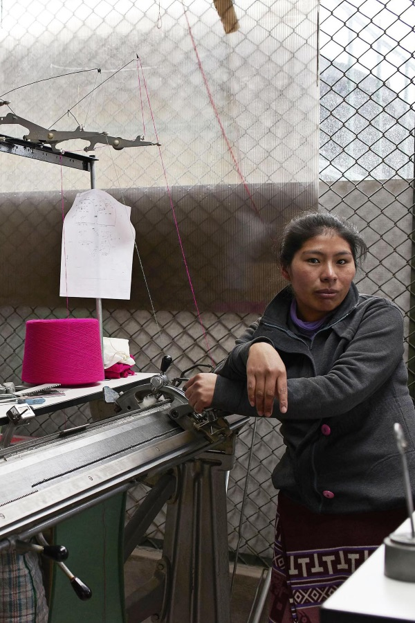CARCEL. The first production is located in Cusco's women's prison in Peru.