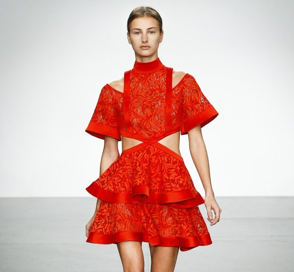 David Koma - Couture meets sportswear