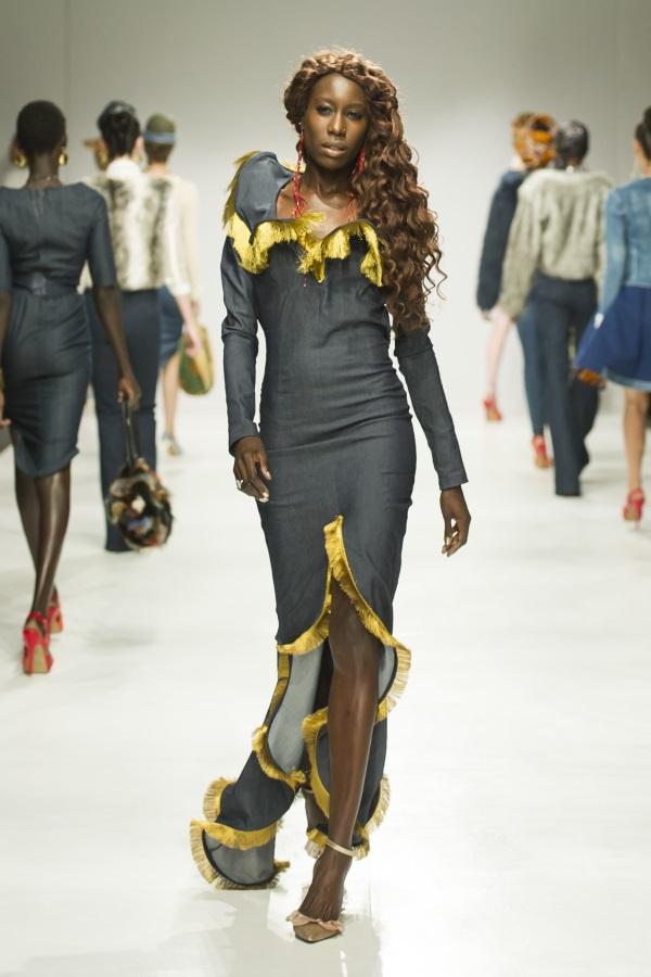 Liz Ogumbo AW18. Photograph: Eunice Driver, Eunice Driver Photography