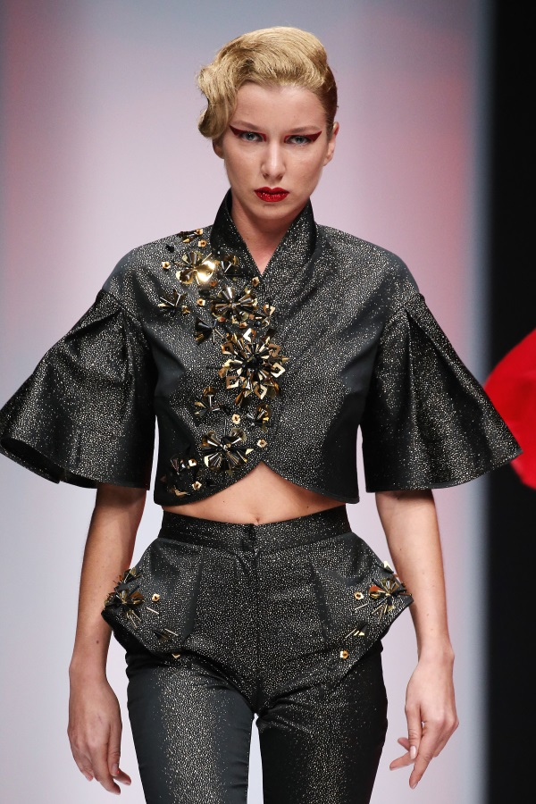SENSUS COUTURE SS18. Mercedes Benz Fashion Week Russia. Photograph: Oleg Nikishin/Artefact