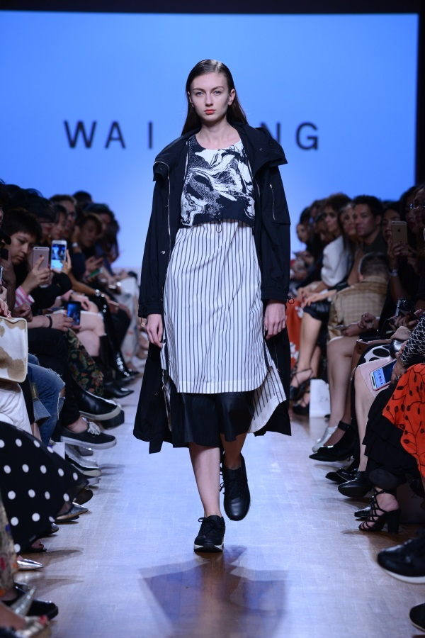 WAI YANG SS18. Photograph courtesy of Singapore Fashion Week