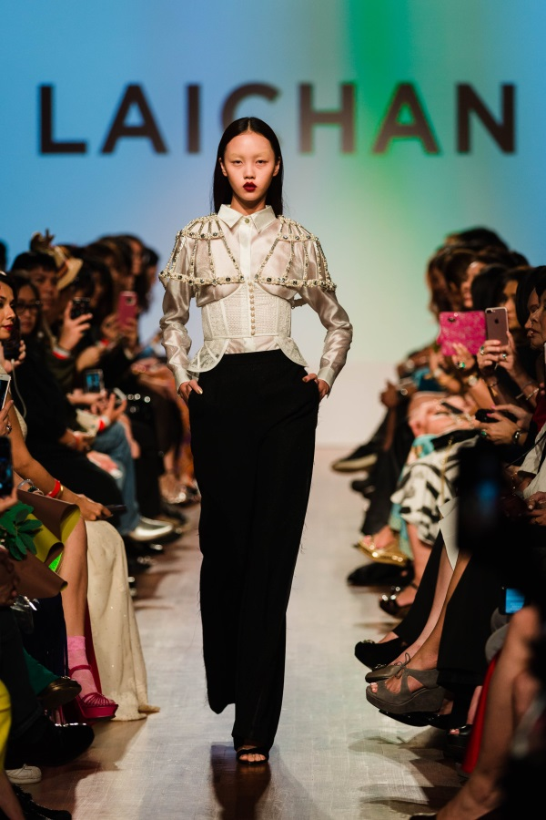 Laichan SS18. Photograph courtesy of Singapore Fashion Week