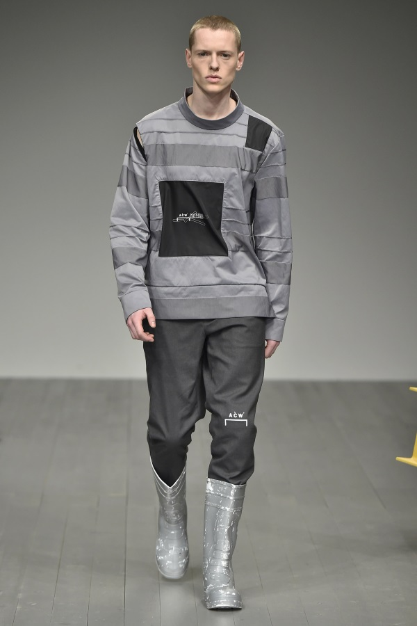 A-COLD-WALL Fall Winter 2018<br />  London Fashion Week Men's.  Photograph: Catwalking.com