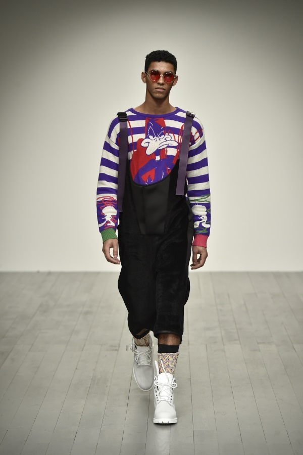 Bobby Abley AW18. Photograph: Chris Moore at Catwalking