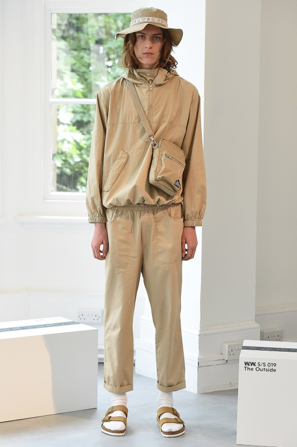 Wood Wood Spring Summer 2019<br /> Photograph: Catwalking.com