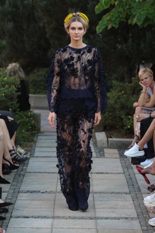 Marcel Ostertag Spring/Summer 2019. Photograph: Getty Images