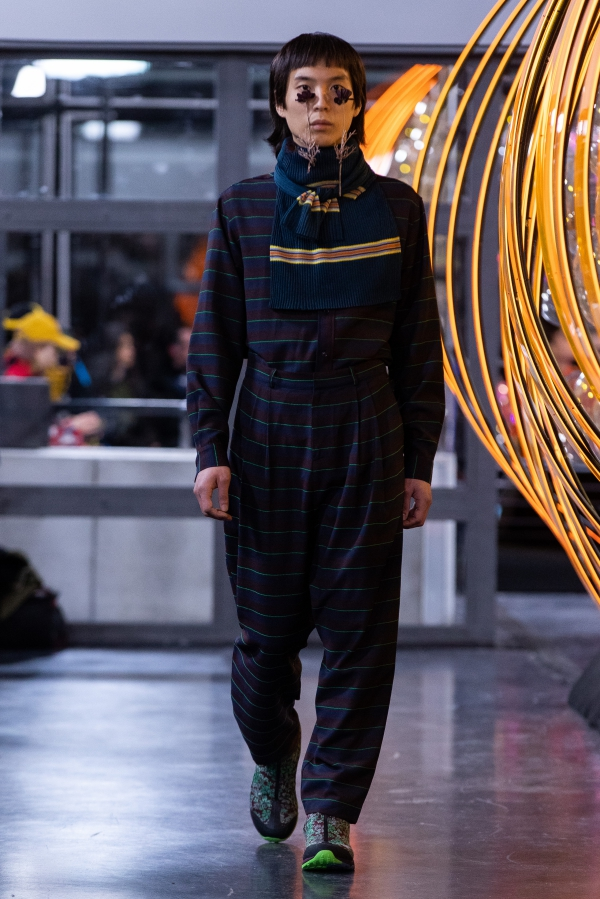 Henrik Vibskov FW19. Photograph: Victor Jones