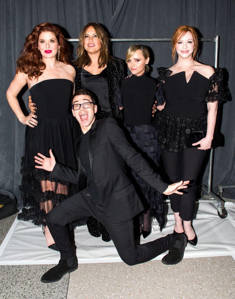 Debra Messing, Mariska Hargitay, Christina Ricci and Christina Hendricks