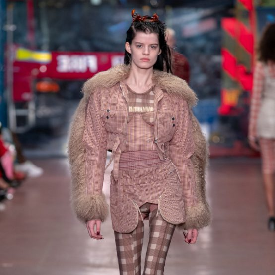 Charlotte Knowles AW19 - winter reality