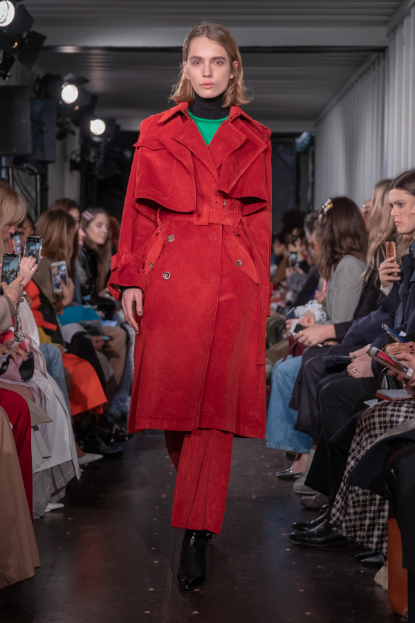 Eudon Choi AW19. Photograph: Chris Yates