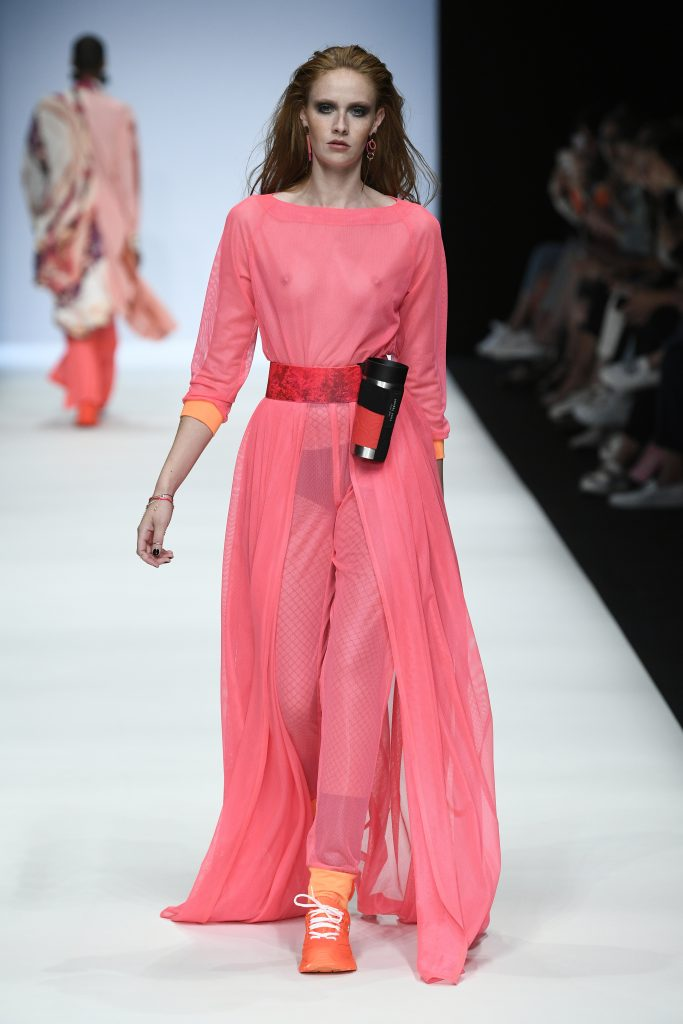 Rebekka Ruetz SS20. Photograph: Stefan Knauer/Getty Images