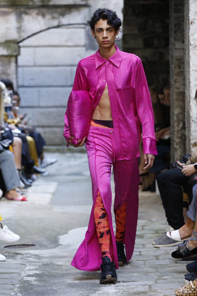 Fyodor Golan SS20.Photograph: Chris Moore for Catwalking